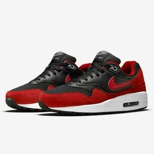 """2015 NIKE AIR MAX 1 """"BRED"""" Athletic Sneaker Shoes"""